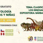 Taller: Paleontología para niños y niñas
