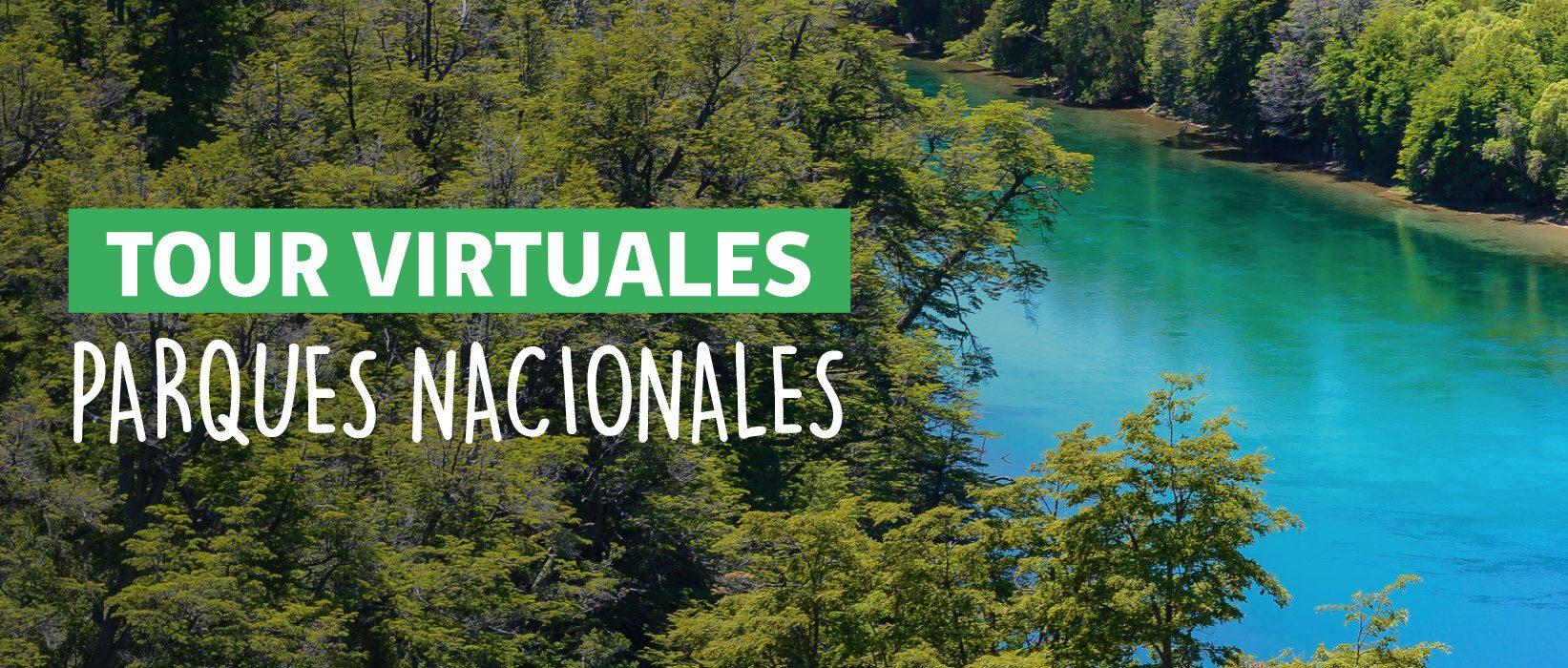 gráfica tour virtuales parques nacionales