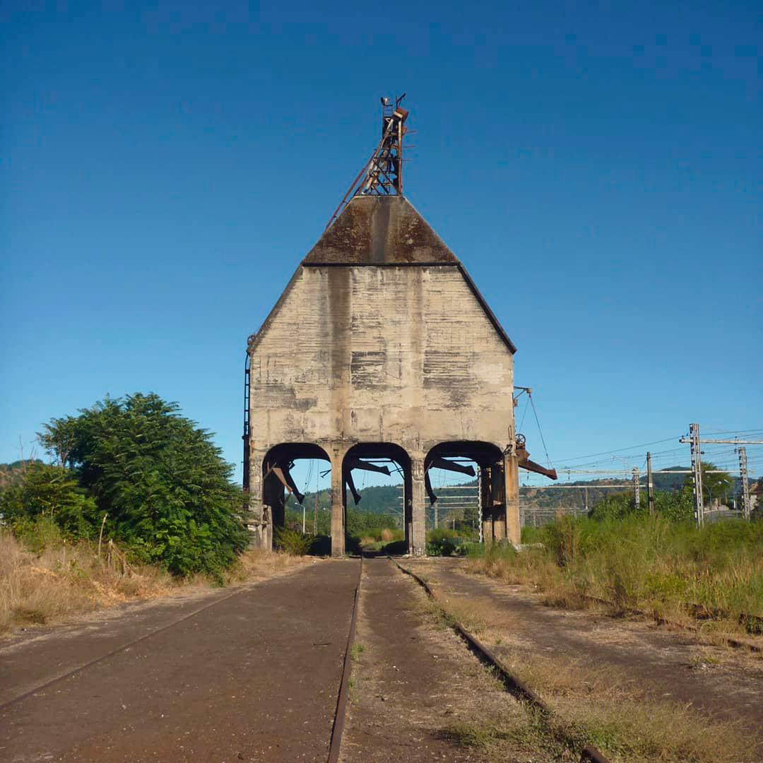 fotografía de carbonera histórica