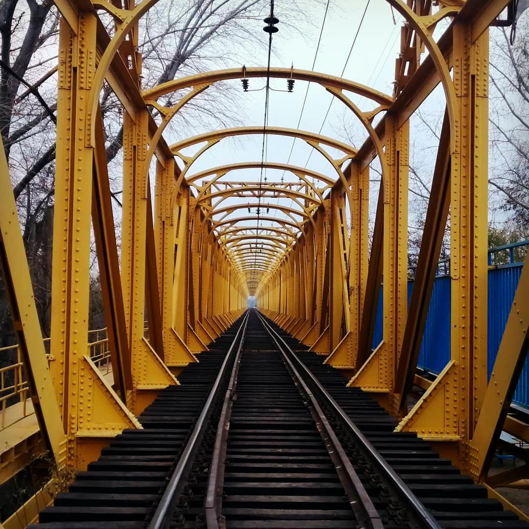 fotografía puente el laja