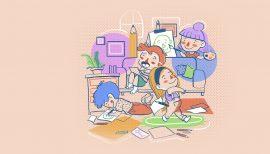 Exposición autorretrato infantil