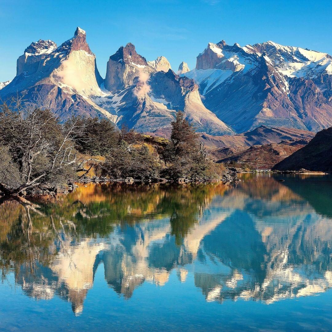 Toma general de las Torres del Paine
